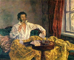 Pushkin-v-Mihajlovskom