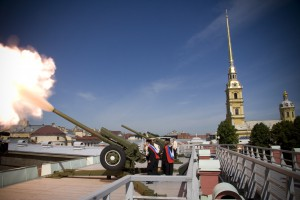 Сигнальная пушка Санкт-Петербурга