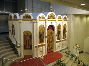 Домовая церковь в администаривном здании Счетной палаты РФ