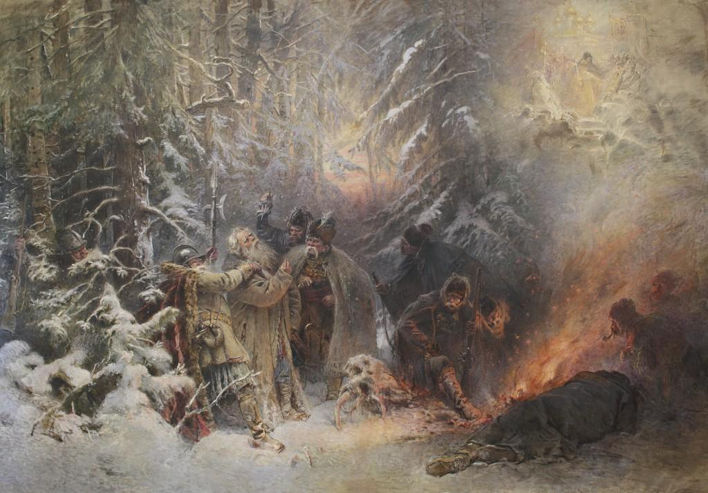 KONSTANTIN_EGOROVICH_MAKOVSKY,_IVAN_SUSANIN,_1914._SOTHEBY'S
