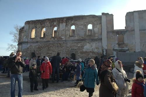 Развалины Троицкой церкви
