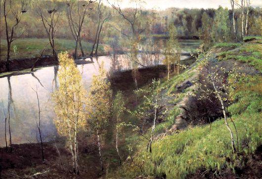 И.С. Остроухов. Первая зелень. 1888 г.