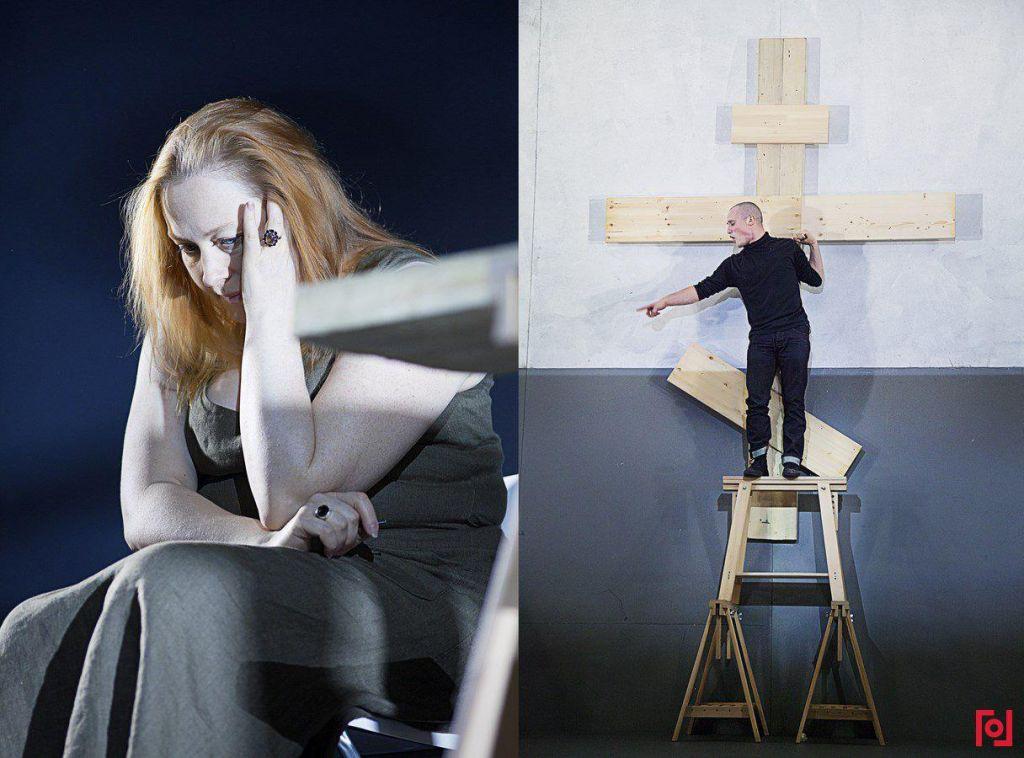Спектакль Кирилла Серебренникова «(М)ученик» (источник: gogolcenter.com)