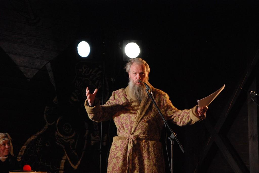 Василий Слонов в роли Льва Львовича Толстого (автор не указан, источник: vk.com/sibdrama)