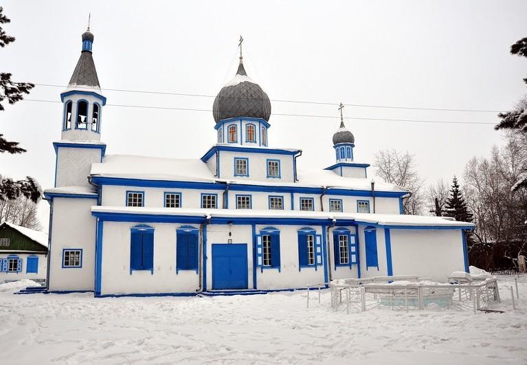 Спасский храм г. Канска