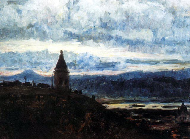 Вид-Красноярска.-1887-Суриков-В.И_.