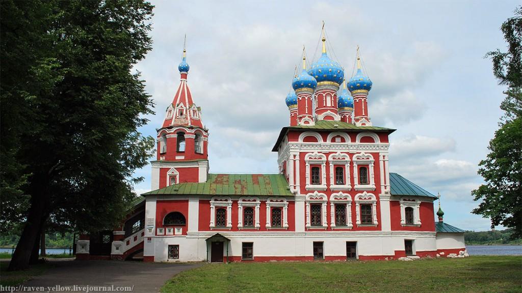 Храм царевича Димитрия в Угличе в наши дни